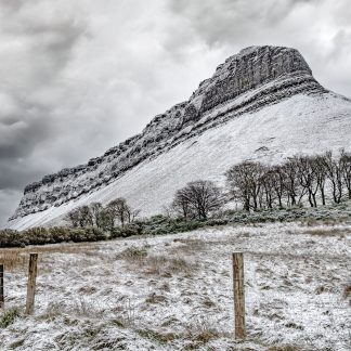 Benbulben snowcovered
